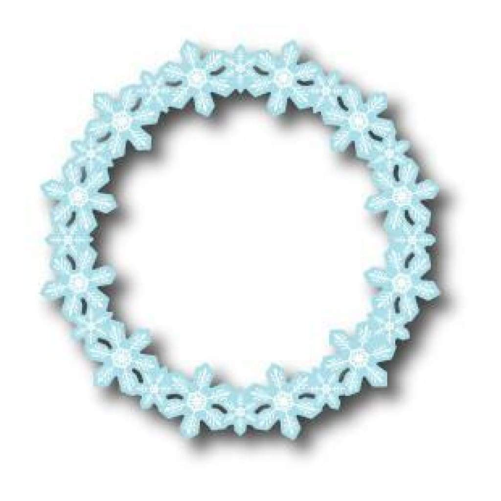 Memory Box Die - Flurry Wreath *