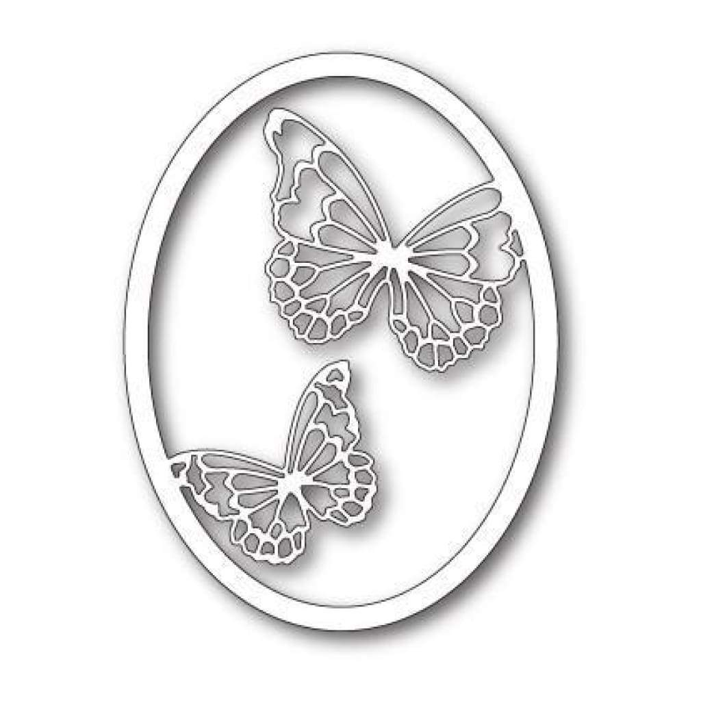 Gold Plate Brushed Texture Flying Butterfly Brooch 4419