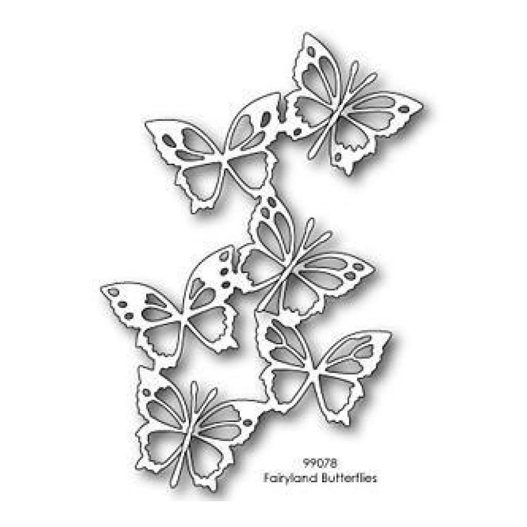 Memory Box Dies - Fairyland Butterflies