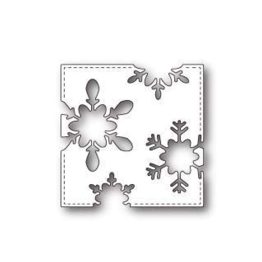 Memory Box PoppyStamps Die - Stitched Snowflake Square