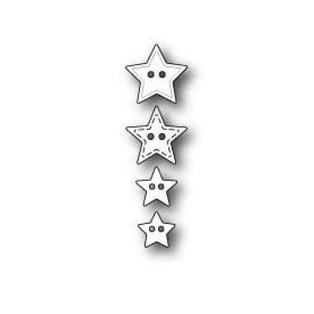 Memory Box/PoppyStamps - Super Star Buttons