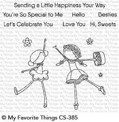 My Favorite Things - Clear Stamps - Sweet Besties