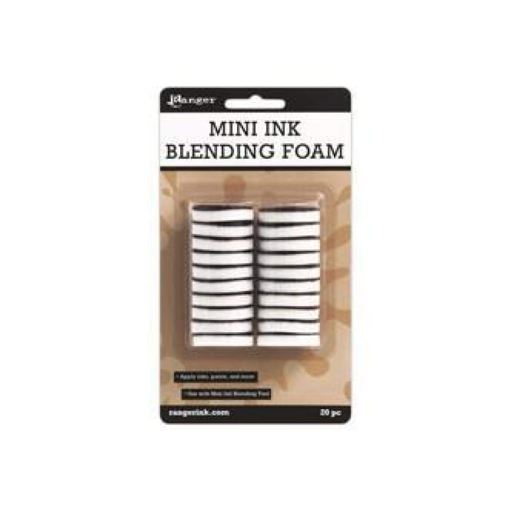 Ranger Mini Ink Blending Replacement Foams 1 Round 20/Pkg (for IBT40965)