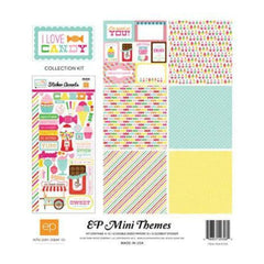 Mini Themes - I Love Candy - 12X12 Collection Kit