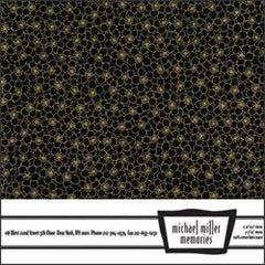 Michael Miller Memories - Maui Bliss Black 12x12 fabric paper (pack of 5)