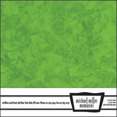 Michael Miller Memories - Krystal Green 12x12 fabric paper (pack of 5)