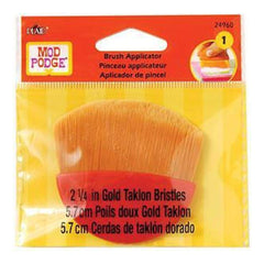 Mod Podge Brush Applicator 2.25In.  - Gold Taklon