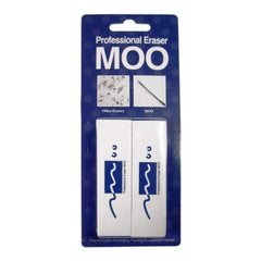 MOO PVC Erasers 2 pack Medium