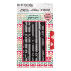 Uchis Design Animation Clear Stamp Butterflies