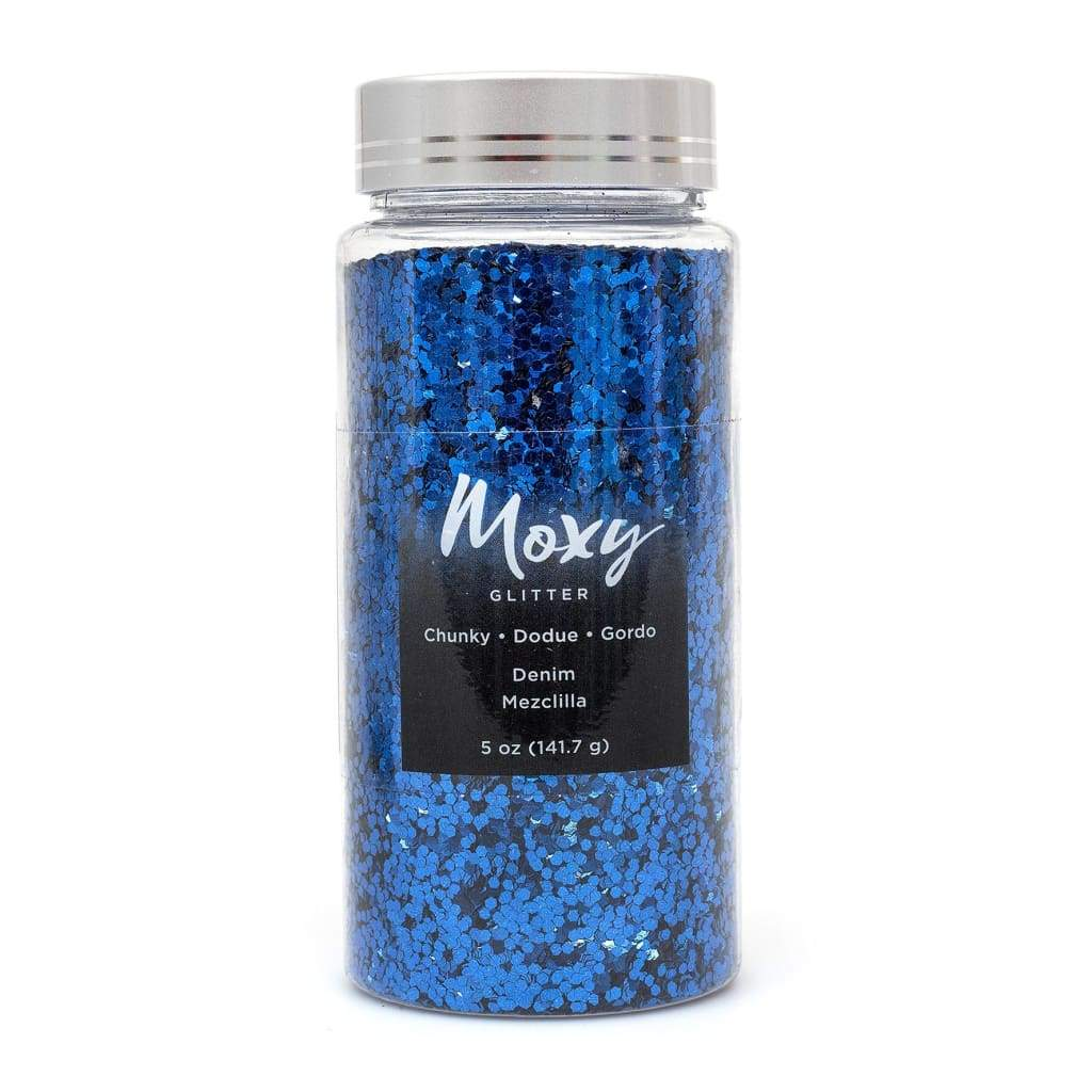 Moxy Glitter 5oz - Denim