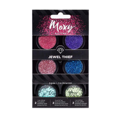 Moxy Glitter Pack, Pot Set - Jewel Thief (6 Piece)