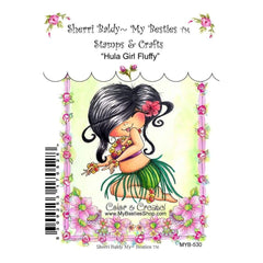 My Besties Clear Stamps - Hula Girl Fluffy