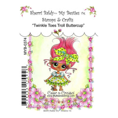 My Besties Clear Stamps - Twinkle Toes Troll Buttercup