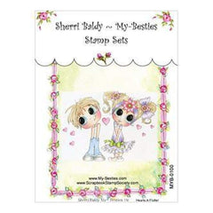 My Besties Clear Stamps - Hearts A Flutter