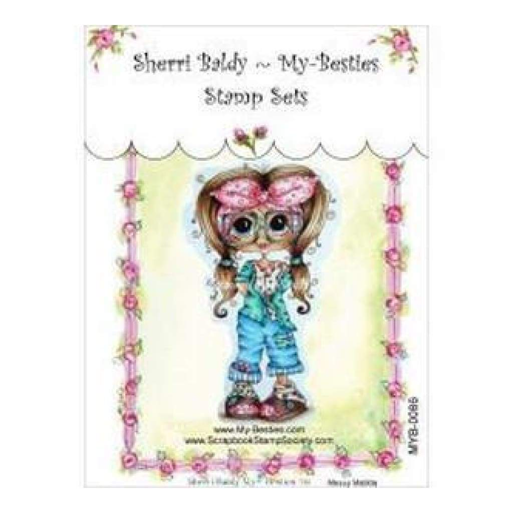 My Besties Clear Stamps 4In.X6in. Messy Matilda