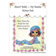 My Besties Clear Stamps - Positively Penelope Sentiments