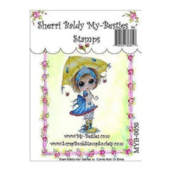 My Besties Clear Stamps 4Inch X6inch  Come Rain Or Shine