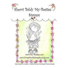 My Besties Clear Stamps 4Inch X6inch  Dottie Dimples