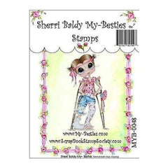 My Besties Clear Stamps 4Inch X6inch  Hannah Hop A Long