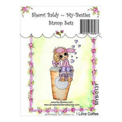 My Besties Clear Stamps 4Inch X6inch  I Love Coffee