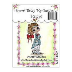 My Besties Clear Stamps 4Inch X6inch  Pajama Time Pipa