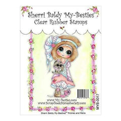 My Besties Clear Stamps 4Inch X6inch  Pickles & Petra