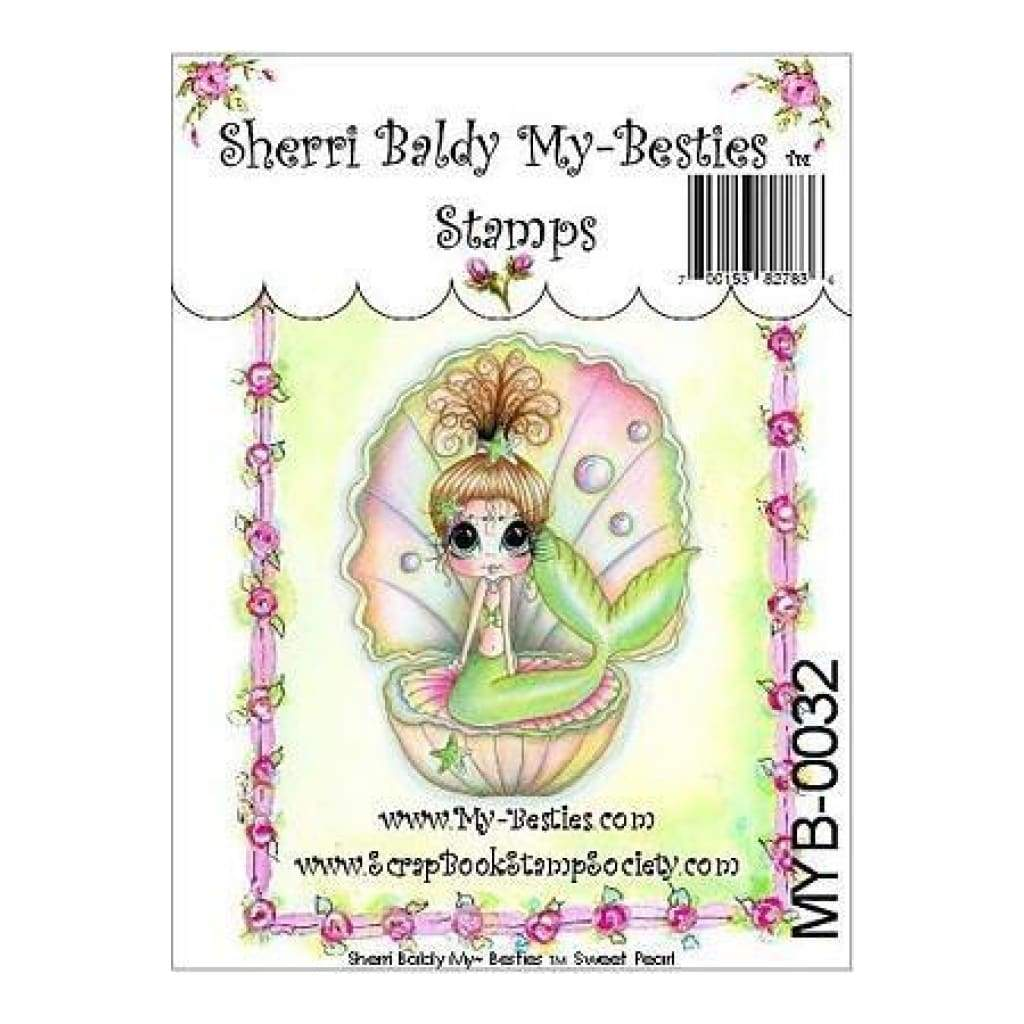 My Besties Clear Stamps 4Inch X6inch  Sweet Pearl