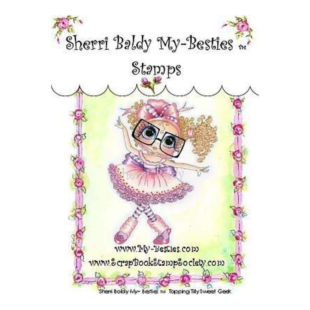 My Besties Clear Stamps 4Inch X6inch  Tapping Tilly Sweet Geek