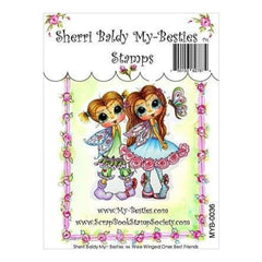My Besties Clear Stamps 4Inch X6inch  Wee Winged One Best Friends