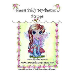 My Besties Clear Stamps 4Inch X6inch  Wee Winged One Sparkle