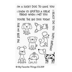 My Favorite Things - Canine Companions Stamps