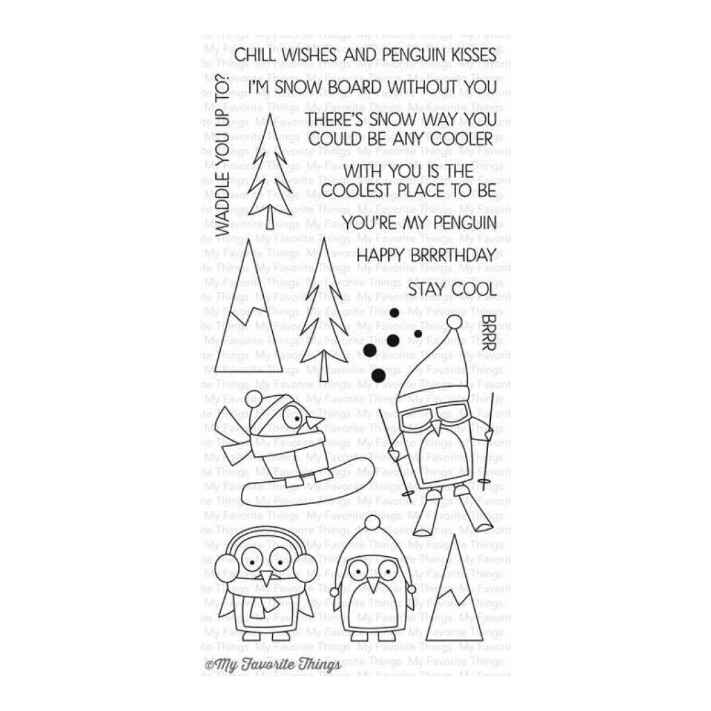 My Favorite Things Clear Stamp Set - Chill Wishes