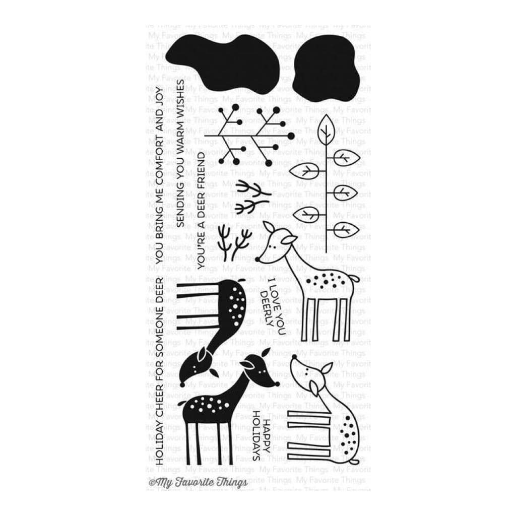 My Favorite Things Clear Stamp Set - Deer Friends