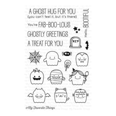 My Favourite Things - BB Fab-BOO-lous Friends - stamp set