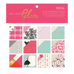 Gal Meets Glam Chipboard Elements 6X12 2//Pkg