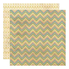 My Mind's Eye - Indie Chic - Citron - Grow Sherbet 12X12 Double-Sided Paper