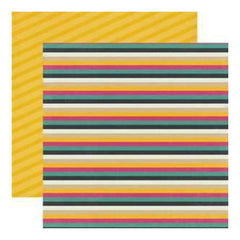 My Mind's Eye - Kate & Co - Cambridge Court - Stripe 12X12 Double-Sided Paper