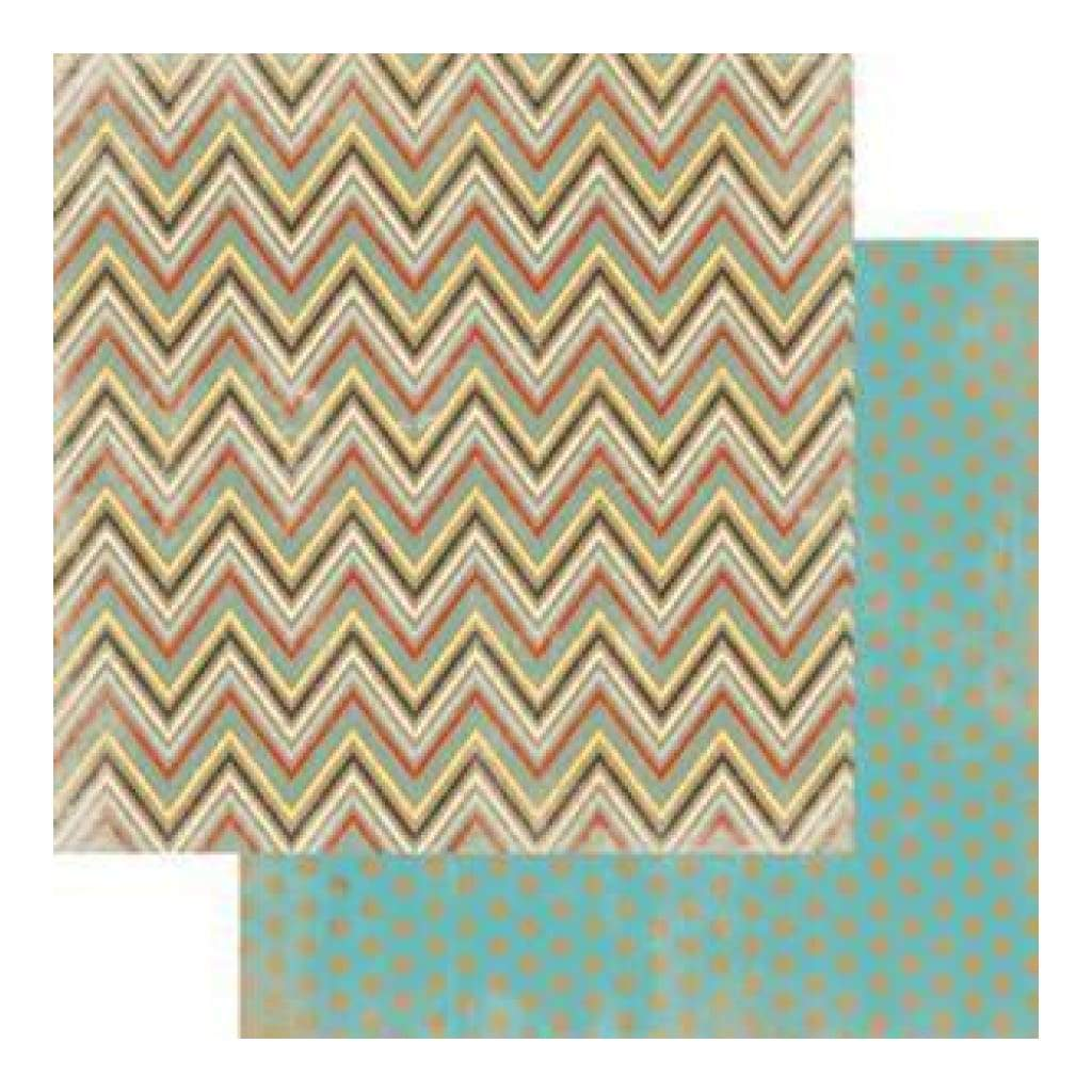 My Mind's Eye - Kraft Funday - Happy Days - Sugar Rush 12X12 Double-Sided Kraft