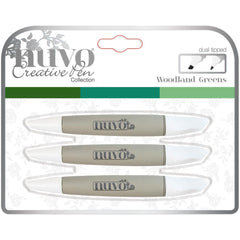 Nuvo - Creative Pen Collection - Woodland Greens