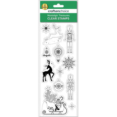 Fynmark - Crafters Christmas Clear Stamps Nostalgic Treasures Icons