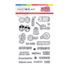 Photo play - Photopolymer 4x6 inch Stamps - So Punny, No Pun Intended