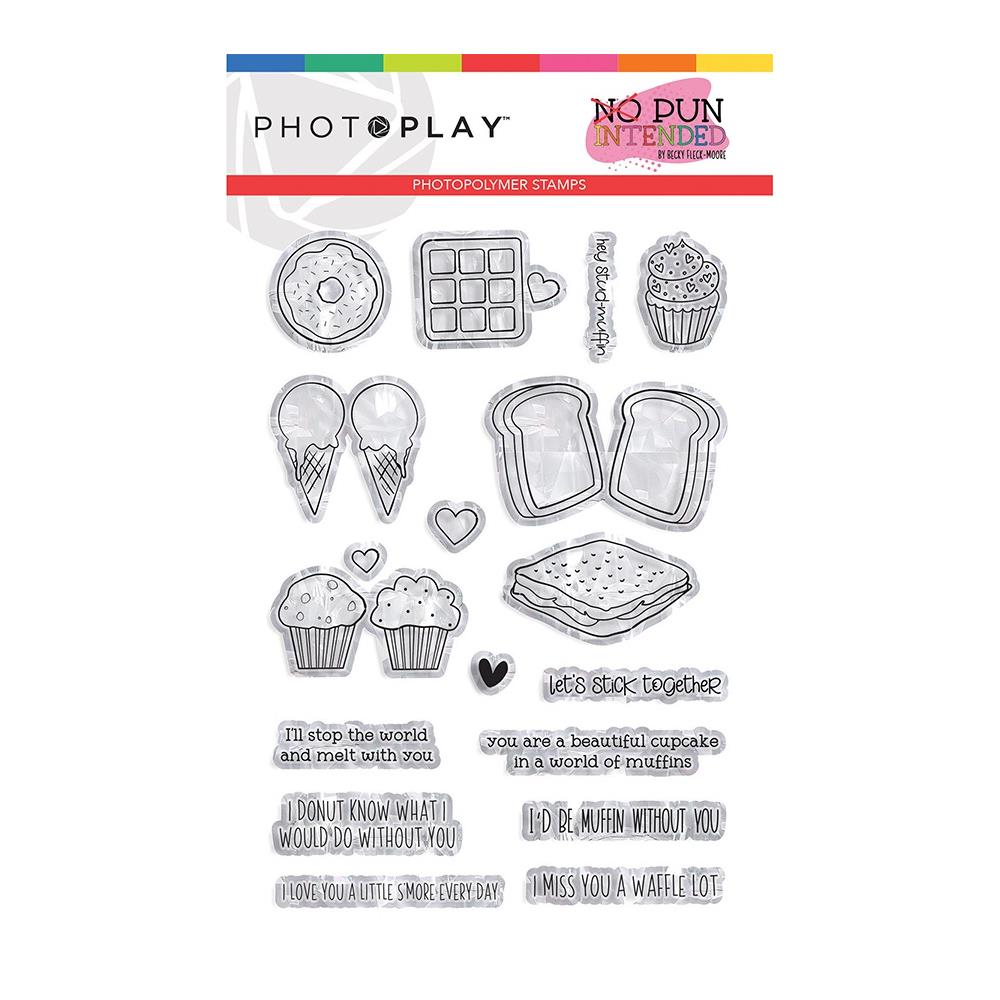 Photo play - Photopolymer 4x6 inch Stamps - Sweets, No Pun Intended