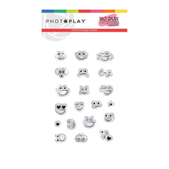 Photo play - Photopolymer 2x3 inch Stamp - Smiley Faces, No Pun Intended