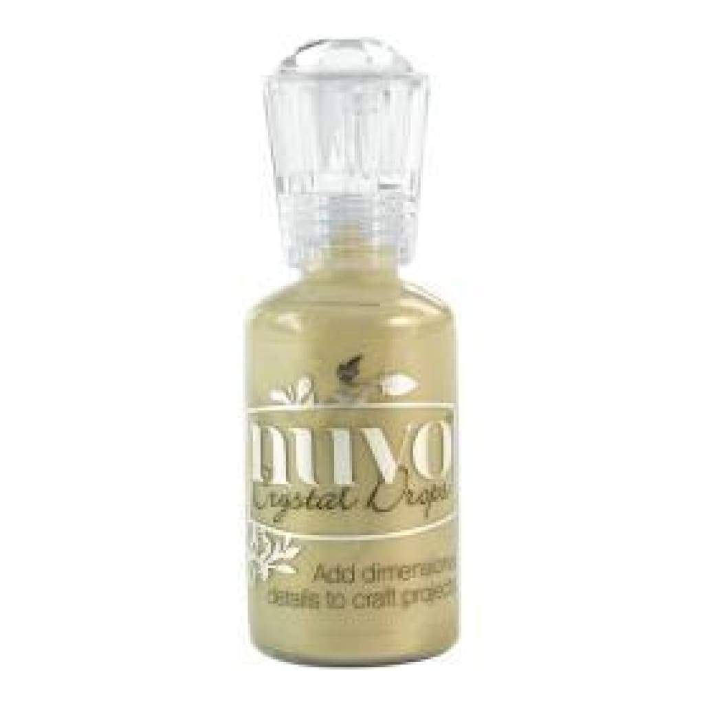 Nuvo Crystal Drops - Pale Gold