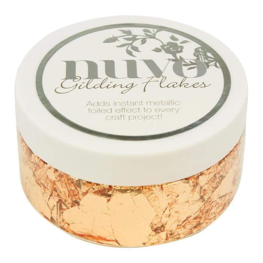 Nuvo Gilding Flakes - Sunkissed Copper