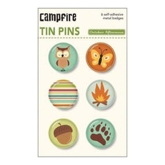 October Afternoon - Campfire - Tin Pins