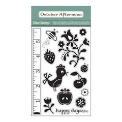 October Afternoon - Cherry Hill - Clear Stamps 4X6