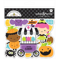 Doodlebug - Odds & Ends Die-Cuts - Candy Carnival, 90 pack