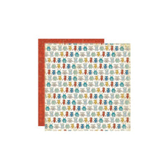 Crate Paper - Orbit Collection - 12 x 12 Double Sided Textured Paper - Lineup