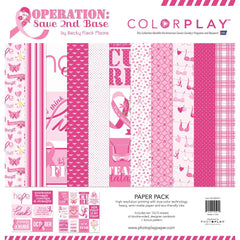 ColorPlay Collection Pack 12 inchX12 inch - Operation Save 2nd Base